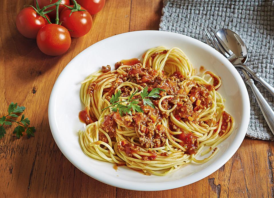 spaghetti bolognese rezept mit bild von nat rlich lecker. Black Bedroom Furniture Sets. Home Design Ideas