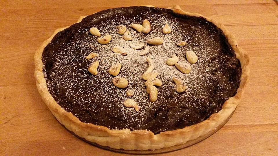 schoko nuss tarte rezept mit bild von kuchenkuchenkuchen. Black Bedroom Furniture Sets. Home Design Ideas