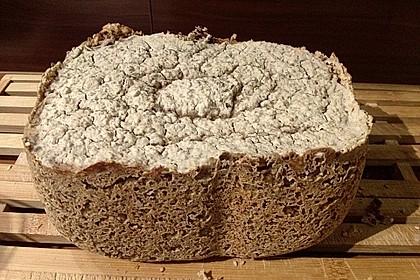 Glutenfreies Brot im Brotbackautomat
