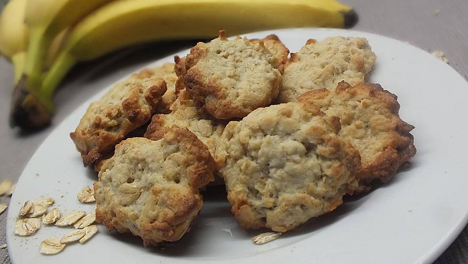 bananen haferflocken nuss cookies rezept mit bild. Black Bedroom Furniture Sets. Home Design Ideas
