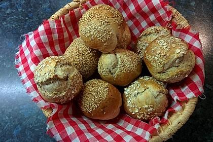 Chia-Joghurt Brötchen
