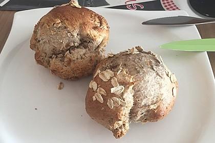 Chia-Joghurt Brötchen 5
