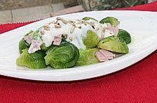 Rosenkohl-Schinken-Salat