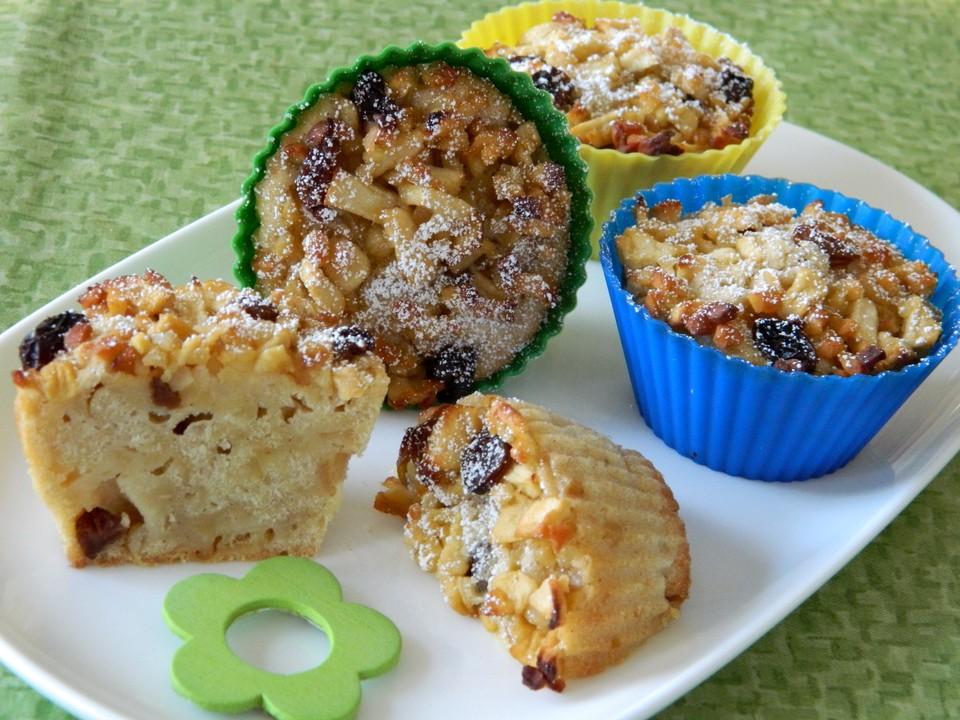 bratapfel muffins rezept mit bild von esslust. Black Bedroom Furniture Sets. Home Design Ideas