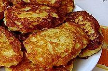 Pfannkuchen aus Äpfeln