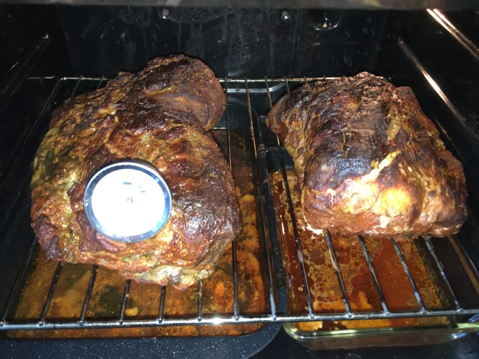 Wie Lange Dauert Pulled Pork Im Gasgrill : Pulled pork aus dem ofen von waschbär chefkoch