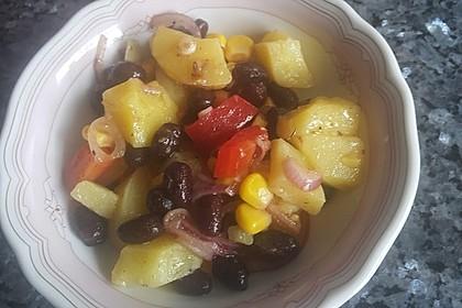 Türkischer Kartoffelsalat mit buntem Gemüsemix 10