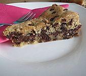 Nutella-Cookie-Kuchen