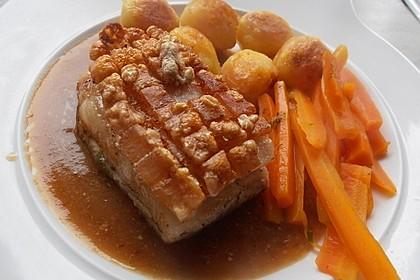 Schweinekrustenbraten mit Bockbiersauce 1