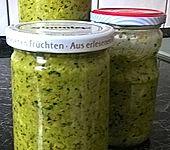 Grüne Würzpaste mit Ingwer (Bild)
