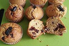 Lakritz-Schoko Muffins
