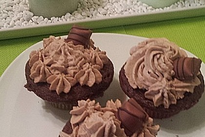 Kinder Bueno-Cupcakes 7