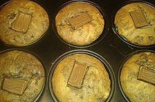 Nutella-Müsli-Muffins