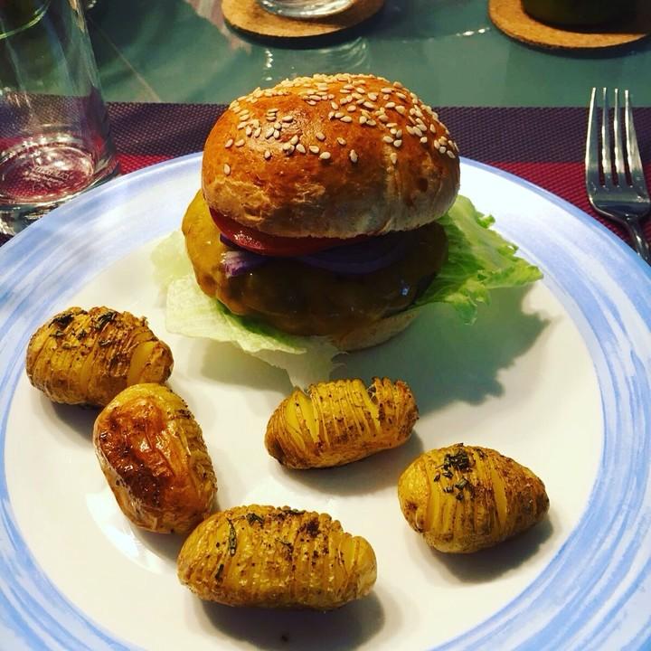 burger br tchen rezept mit bild von waschb r0710. Black Bedroom Furniture Sets. Home Design Ideas