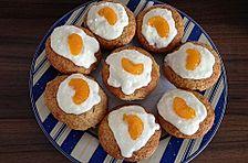 Mandarinen-Mascarpone-Muffins mit Kokos