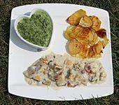Kartoffelgratin mit Estragon (Bild)