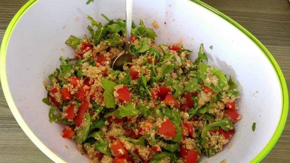 inka salat w rziger quinoa salat mit avocado und rucola von sweetdiscobaby. Black Bedroom Furniture Sets. Home Design Ideas