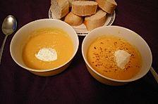 Möhren-Ingwer-Orangen-Suppe