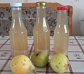 Birnensaft mit Apfel und Zimt (Bild)