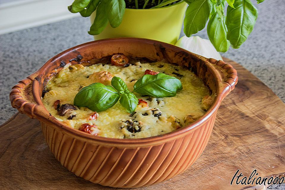 italienischer gnocchi spinat auflauf mit gorgonzola von italianooo. Black Bedroom Furniture Sets. Home Design Ideas
