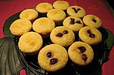 Ananasjoghurt-Kokos-Muffins oder Cakes