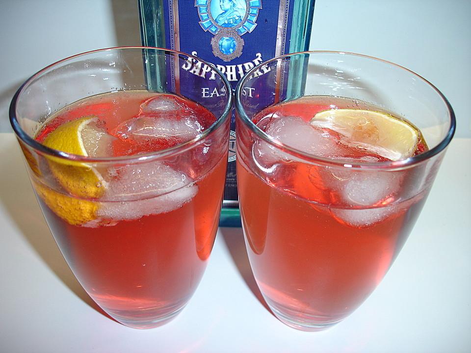 cranberry gin tonic rezept mit bild von dodith. Black Bedroom Furniture Sets. Home Design Ideas