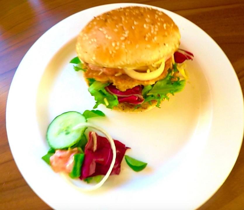 tuna burger mit mayomarmeladen so e einfach lecker rezept mit bild. Black Bedroom Furniture Sets. Home Design Ideas