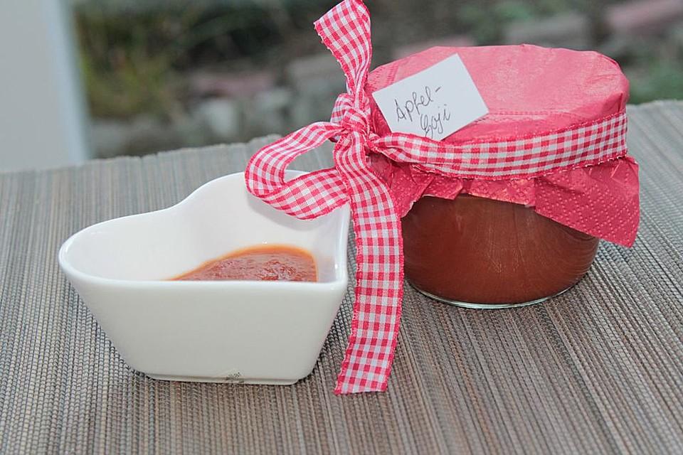 apfel goji beeren marmelade rezept mit bild von patty89. Black Bedroom Furniture Sets. Home Design Ideas