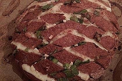 Mozzarella-Knoblauch-Brot als Snack 2