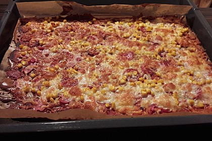 Beste und einfachste Low Carb Pizza 37