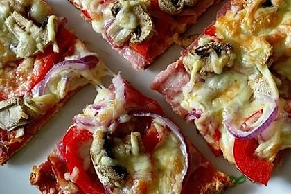 Beste und einfachste Low Carb Pizza 33