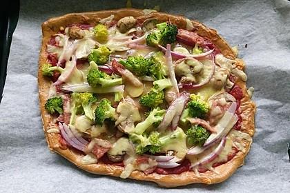 Beste und einfachste Low Carb Pizza 27