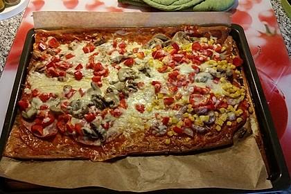 Beste und einfachste Low Carb Pizza 49
