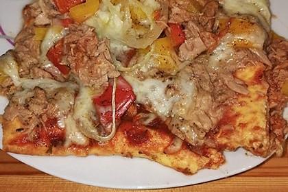 Beste und einfachste Low Carb Pizza 46