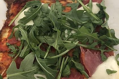 Beste und einfachste Low Carb Pizza 3