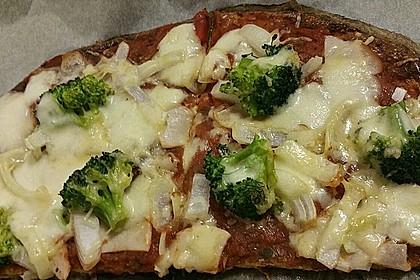 Beste und einfachste Low Carb Pizza 9