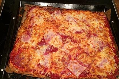 Beste und einfachste Low Carb Pizza 10