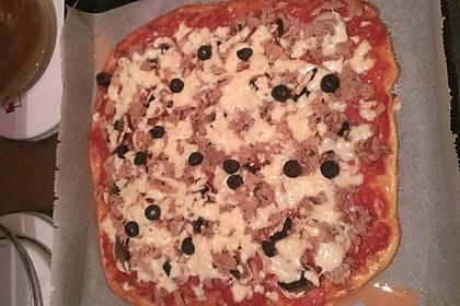 Beste und einfachste Low Carb Pizza 32