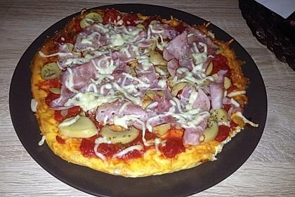 Beste und einfachste Low Carb Pizza 20