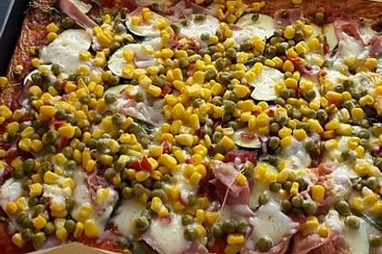 Beste und einfachste Low Carb Pizza 19