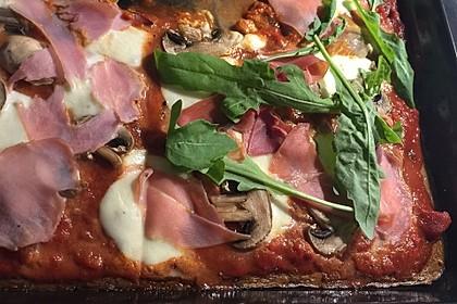 Beste und einfachste Low Carb Pizza 6