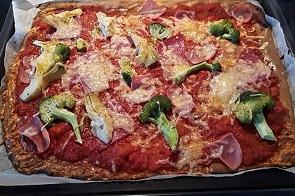 Beste und einfachste Low Carb Pizza 5