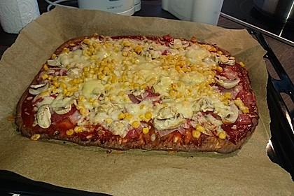 Beste und einfachste Low Carb Pizza 17