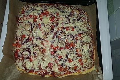 Beste und einfachste Low Carb Pizza 24