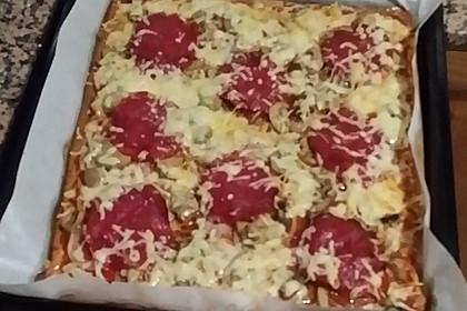 Beste und einfachste Low Carb Pizza 44