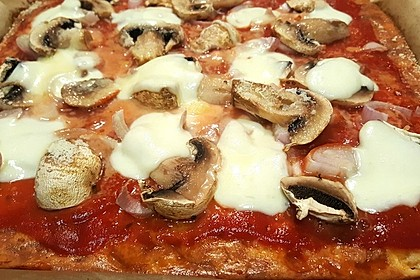 Beste und einfachste Low Carb Pizza 2