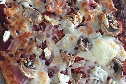 Beste und einfachste Low Carb Pizza 15