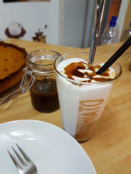 pumpkin spice latte von hannah kocht einfach. Black Bedroom Furniture Sets. Home Design Ideas