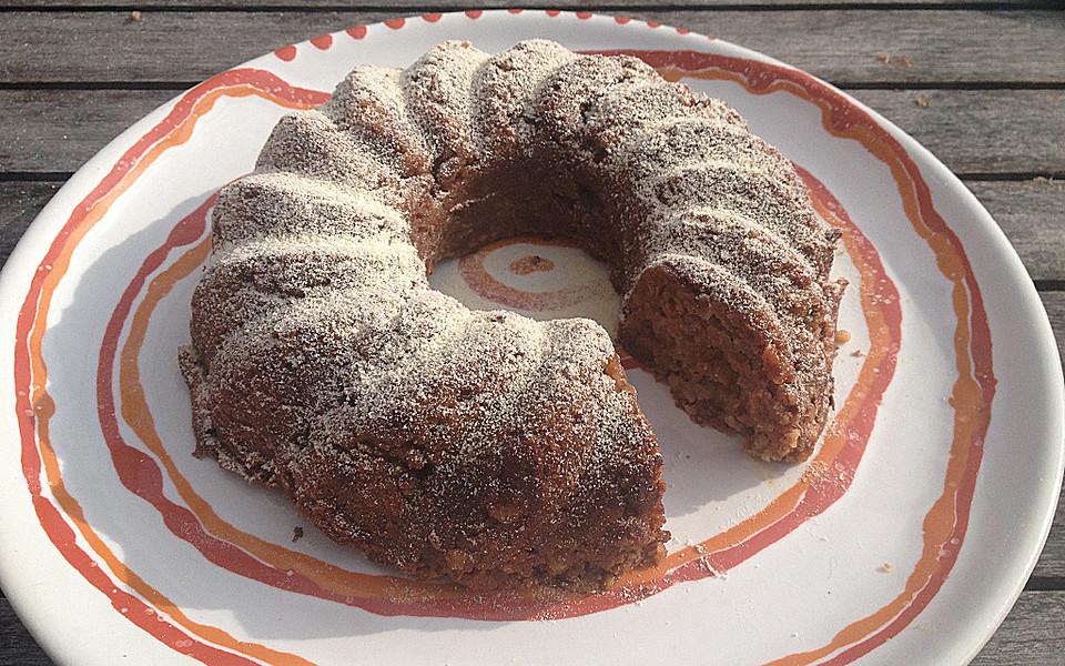 Glutenfreier zuckerfreier kuchen