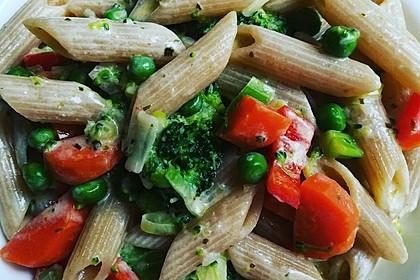 Leichte Gemüse-Nudelpfanne 2